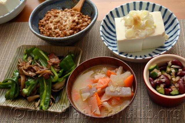 「夕飯 納豆」の画像検索結果