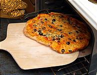 へらでらくらくピザを移動。