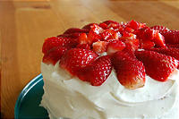 <br /> 誕生日のケーキ(人間用)