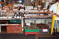 カラフルでかわいい魚市場