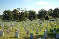 広大なアーリントン墓地