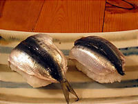いわしの姿寿司