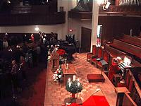 聖歌隊が座る中央正面