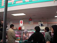 肉売り場に導入された番号札制度